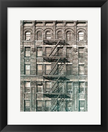 Framed City Escapes 4 Print