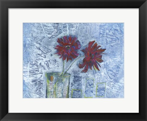 Framed Winter Bloom Print