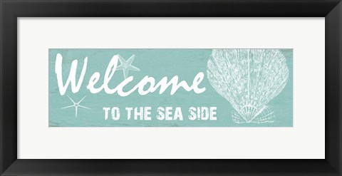 Framed Sea Side Print