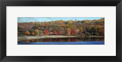 Framed Painted Fall Print