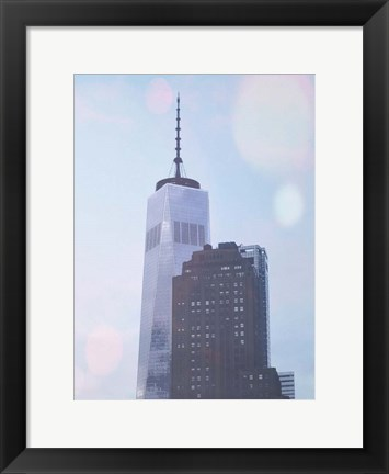 Framed One World Trade NY Print
