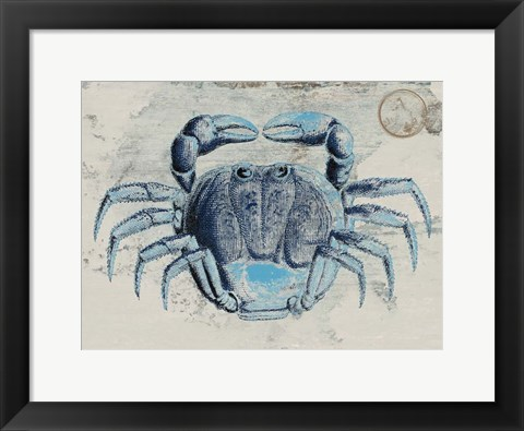 Framed Mysterious Crustacean 2 Print