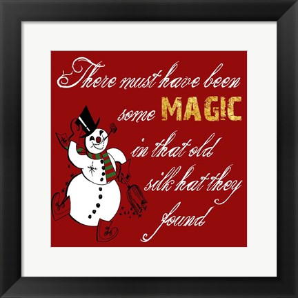 Framed Christmas Magic Print