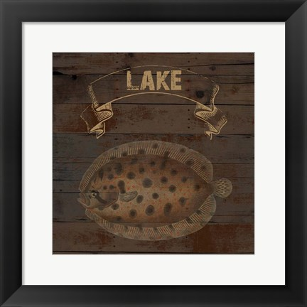 Framed Lake Print