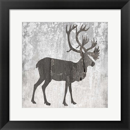 Framed Hunting Time Print