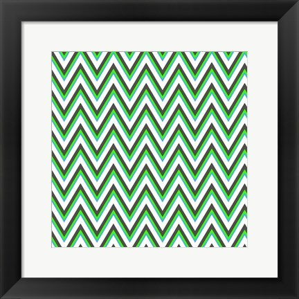 Framed Chevron 1 Print