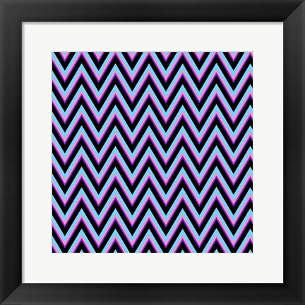 Framed Chevron 2 Print