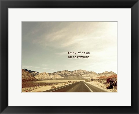 Framed Adventure Print