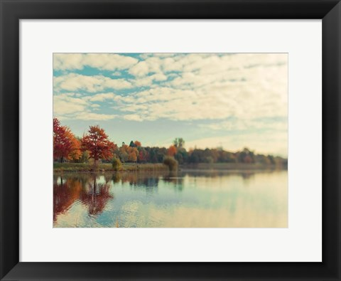 Framed Dows Lake Print