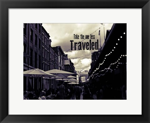 Framed NYC Travel Print
