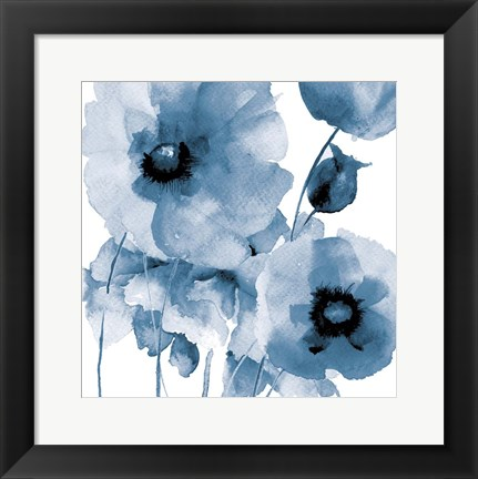 Framed Flowing Flowers Print