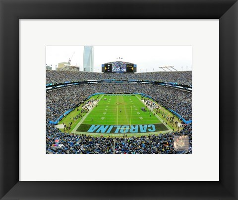 Framed Bank of America Stadium 2015 Print