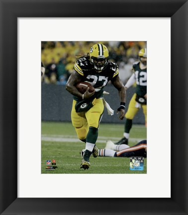 Framed Eddie Lacy 2015 Action Print