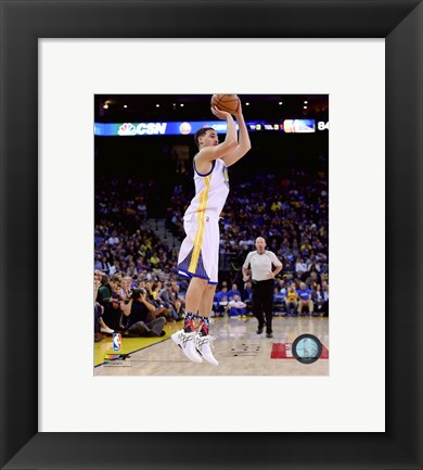 Framed Klay Thompson 2015-16 Action Print