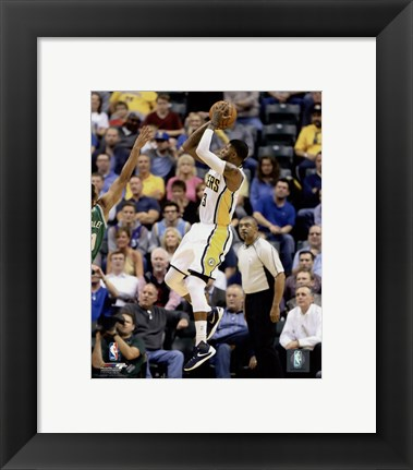 Framed Paul George 2015-16 Action Print