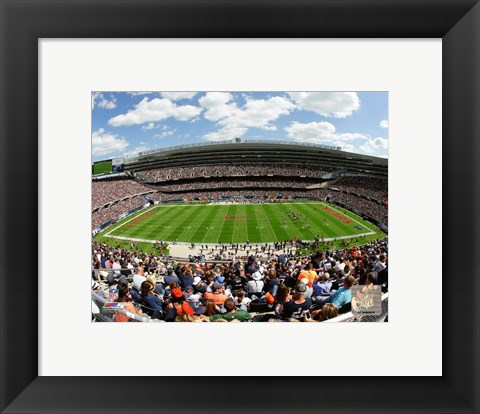 Framed Soldier Field 2015 Print