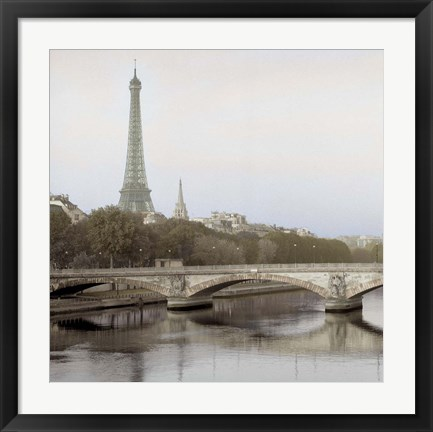 Framed Tour Eiffel 3 Print