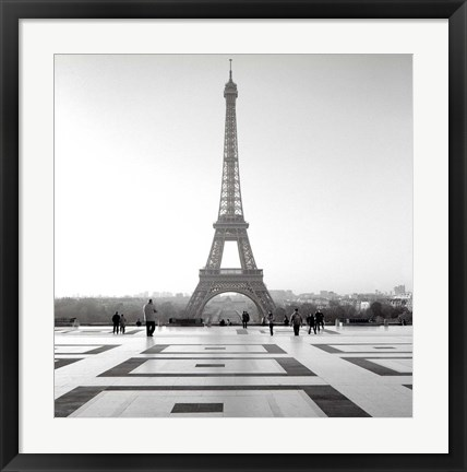 Framed Tour Eiffel 4 Print