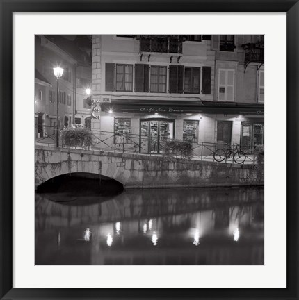 Framed Cafe des Ducs 1 Print