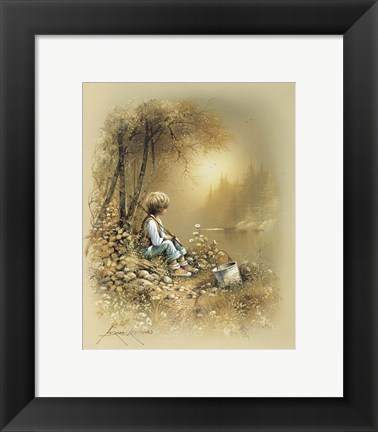 Framed Little Boy Print