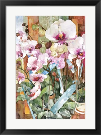 Framed Orchid Dance Print
