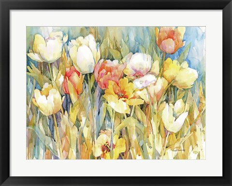 Framed Tulip Team Print