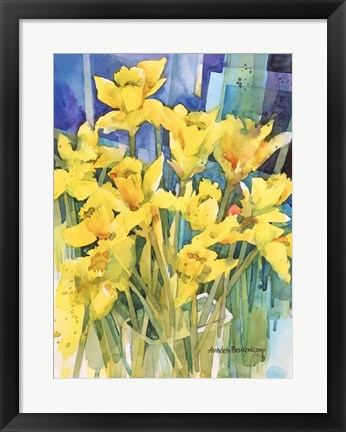 Framed Daffodil Delight Print