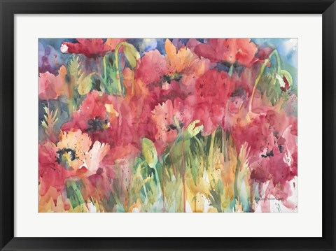Framed Color Craze Print