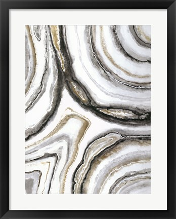 Framed Shades of Gray II Print