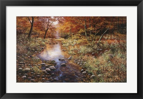 Framed Autumn Gold Print