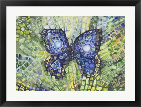 Framed Butterfly Disguise Print