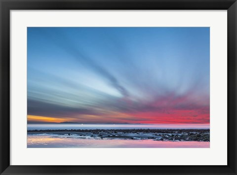 Framed Last Light Print