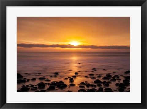 Framed Pacific Sunset Print