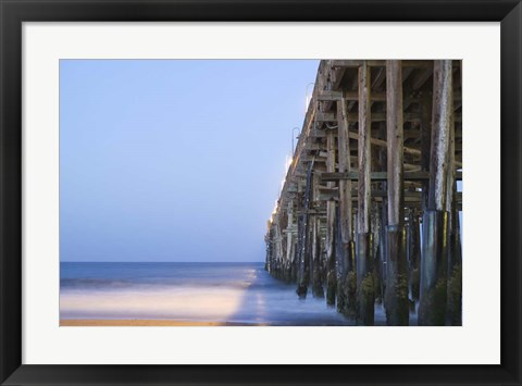 Framed Pier Simple Print