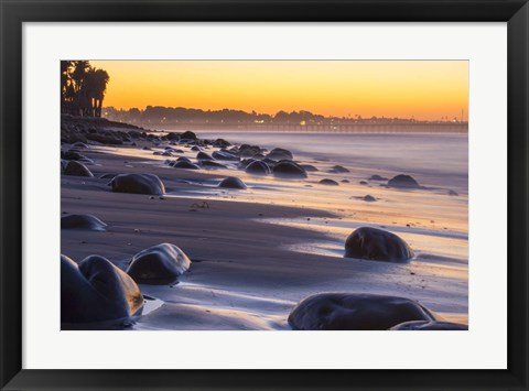 Framed Rocky Reflections Print