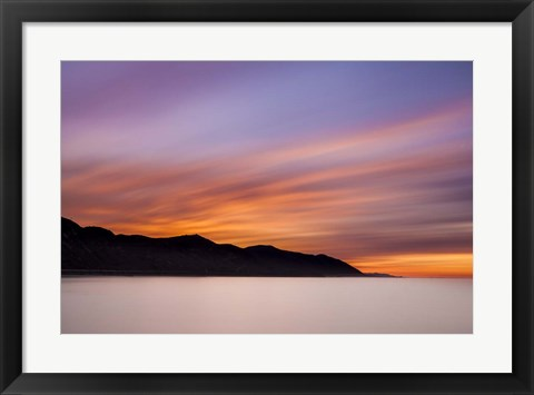 Framed Streaking Dawn Print