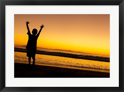 Framed Sunset Joy Print