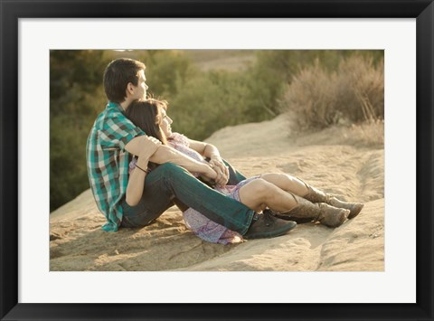 Framed Young Love Print