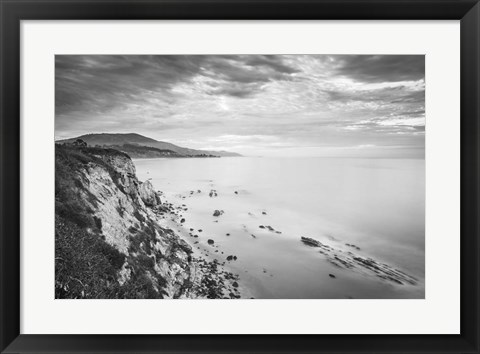 Framed Carpinteria Bluffs I Print