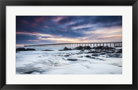 Framed Goleta Night Print