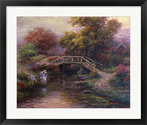 Framed Peaceful Juncture Print