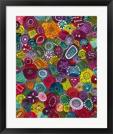 Framed Autumn Jewels Print