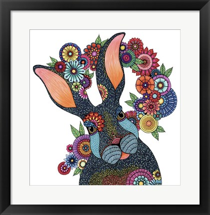 Framed Mr. Rabbit Print