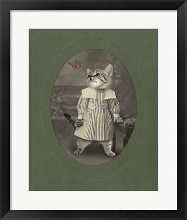 Framed Cat Series #2 Print