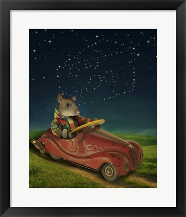 Framed Mice Series #5.5 Print