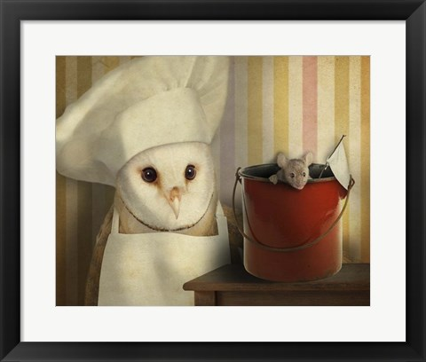 Framed Mice Series #8 Print