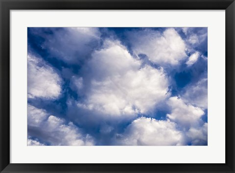 Framed Clouds II Print