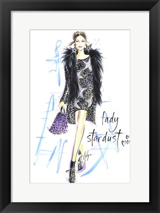 Framed Lady Stardust Print