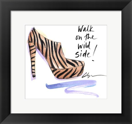 Framed Walk on the Wild Side Print