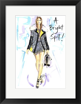Framed Bright Spot Print